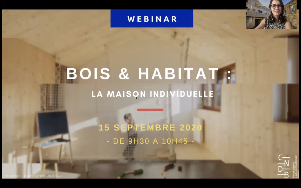 replay webinar bois et habitat maison individuelle bois