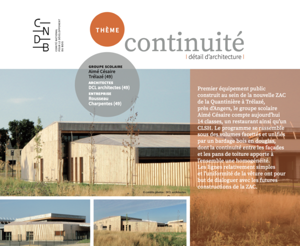 detail d'architecture continuite