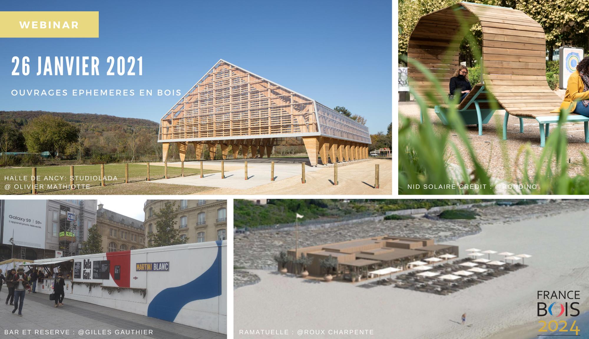 26 JANVIER 2021 webinar ouvrages éphémères en bois cndb FB2024