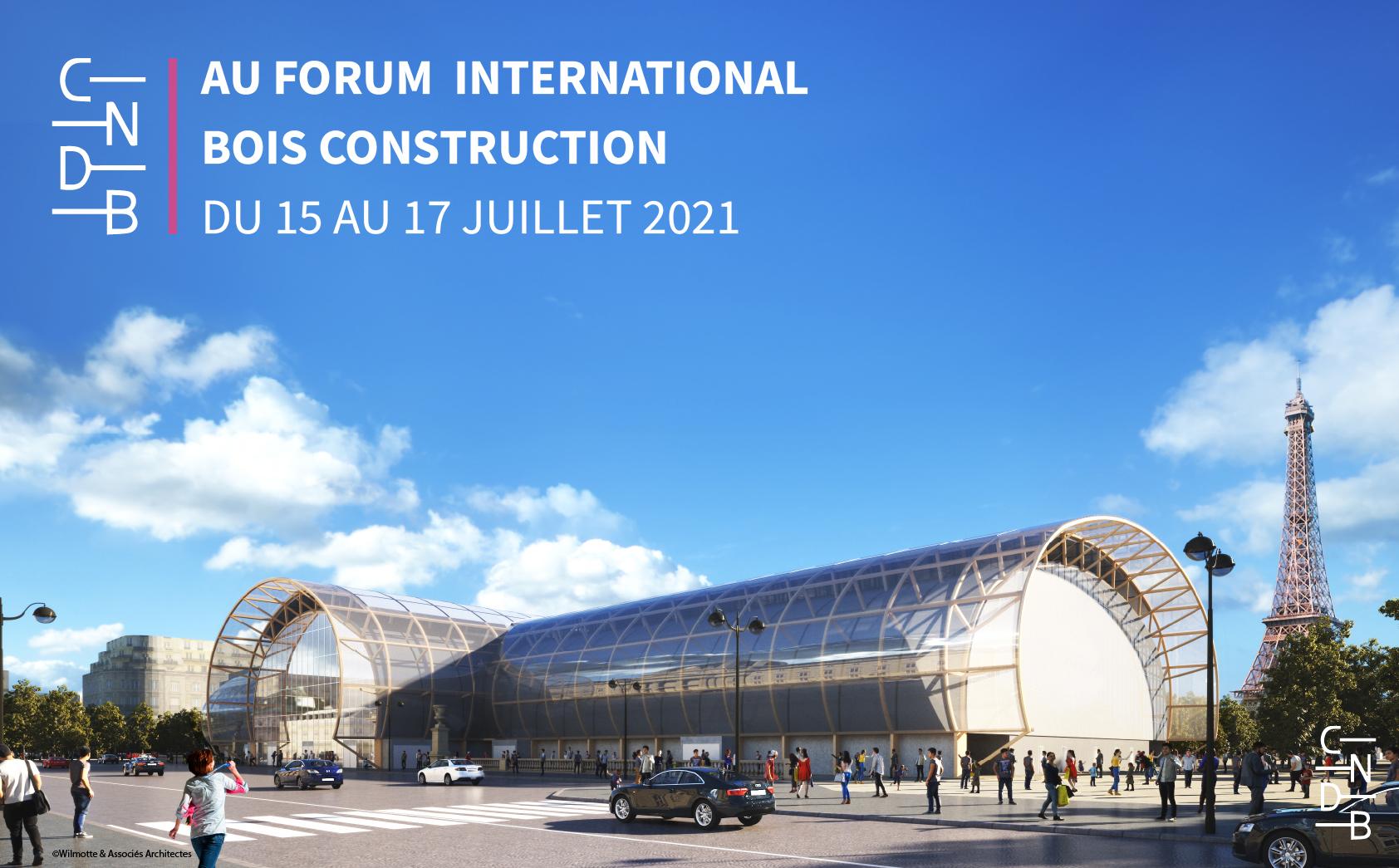 le cndb au forum bois construction