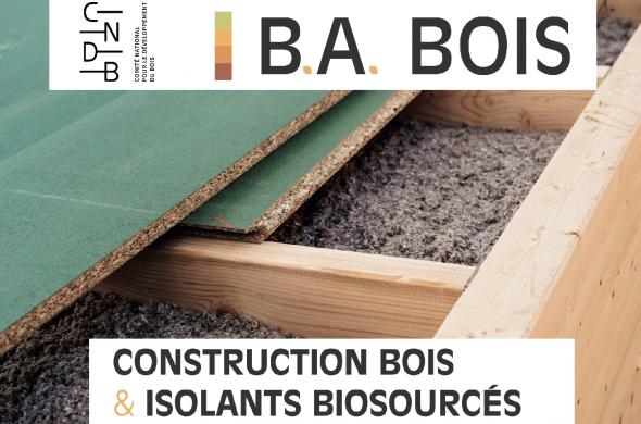 BA BOIS CNDB CONSTRUCTION BOIS ET ISOLANTS BIOSOURCES